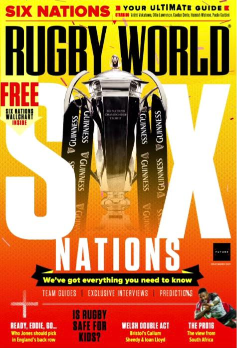 """Bec Featured as """"Team of the Month"""" in Rugby World Magazine!"""